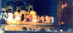 actuacion bailarin del diablo en Mendoza  1981