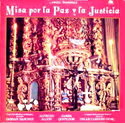 Disco misa por la paz y la justicia